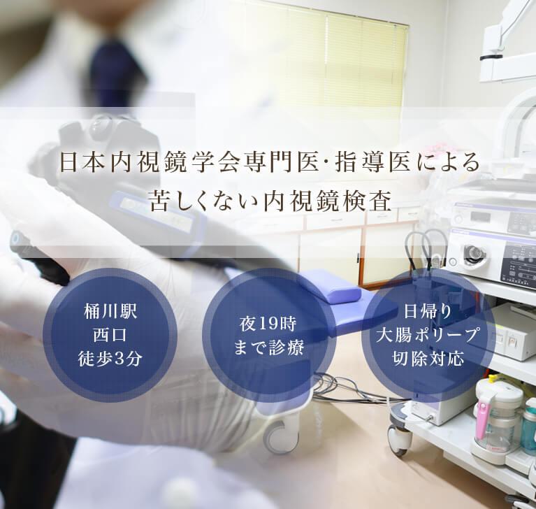 日本内視鏡学会専門医・指導医による苦しくない内視鏡検査